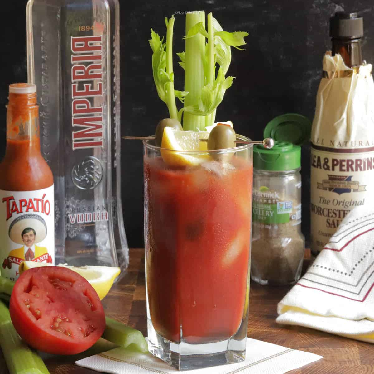 This simple vodka and tomato juice breakfast classic has turned into a brunch time favorite. The bloody mary continues to add ingredients along the way.