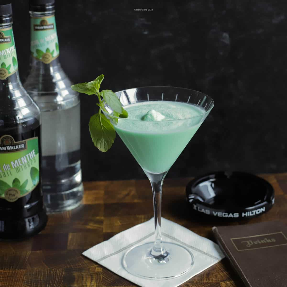 The Minty Smooth Grasshopper Is A Great Refreshing Cocktail Flour Child