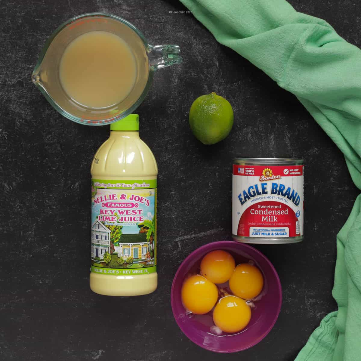 key lime pie ingredients