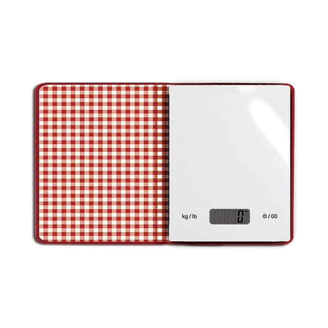 Cook Book Scale Open